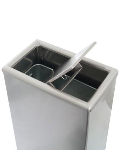 MWR051SA - Waste Receptacle - Top view