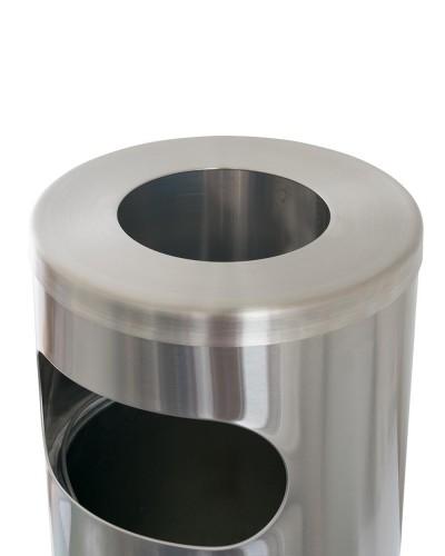 MWR053SA-Waste Receptacle Round - Close up 2