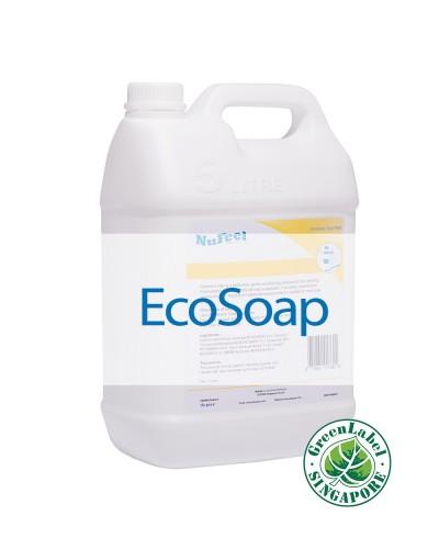 NuFeel 5L ecosoap banner website